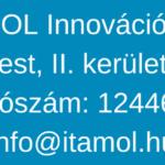 ITAMOL Innovációs Kft.-center-ITAMOL Innovációs Kft.-br- 1027 Budapest, II. kerület Horvát utca 14-24. Adószám- 12446234-2-41info@itamol.hu